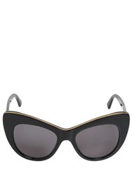 Stella Mccartney Chained Cat Eye Acetate Sunglasses