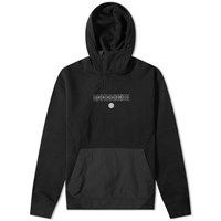 Mhi Maharishi Ghost Dragon Tech Popover Hoody Black