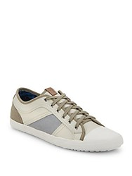 Ben Sherman Mason Colorblock Low Top Sneakers Tan
