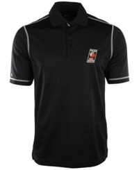 Antigua Men's Portland Trail Blazers Icon Polo Black White