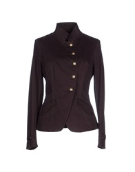 Trussardi Jeans Blazers Dark Brown