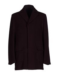 Mario Matteo Mm By Mariomatteo Coats Deep Purple