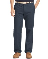 Izod Men's Straight Fit Chino Pants Ombre Blue