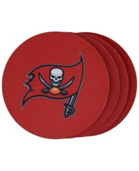 Memory Company Tampa Bay Buccaneers 4 Pack Coaster Set