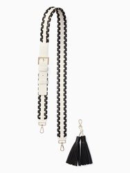 Kate Spade Mix It Up Strap Tassel Pack Black Cement