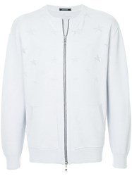 Guild Prime Zipped Cardigan White