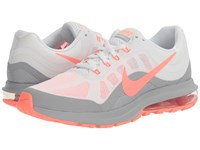 Nike Air Max Dynasty 2 White Lava Glow Wolf Grey Women's Running Shoes Gray