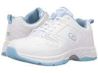 Propet Eden White Powder Blue Women's Shoes