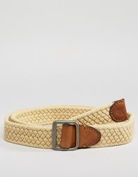 Abercrombie And Fitch Woven Belt Ki112 6204 White