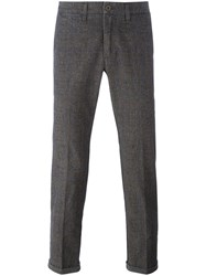 Re Hash Checked Tailored Trousers
