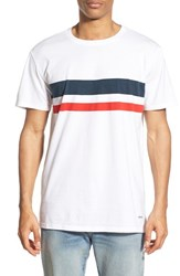 Men's Rhythm 'Steve' Stripe Crewneck T Shirt