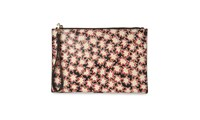 Whistles Star Wristlet Red Multi
