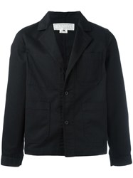 Ganryu Comme Des Garcons Two Button Jacket Black