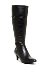 Cole Haan Elinor Dress Boot Wide Width Black