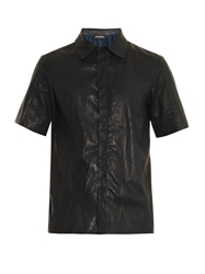 Jil Sander Enigma Creased Leather Shirt