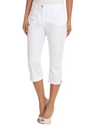 Betty Barclay Cropped Five Pocket Jeans Bright White
