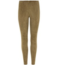 Stouls Carlson Suede Trousers Neutrals
