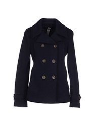 Swiss Chriss Coats Dark Blue