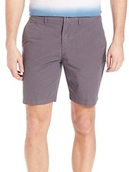 Burberry Slim Fit Chino Shorts Stone Grey