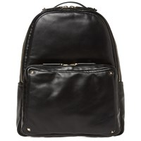 Valentino Leather Rockstud Backpack Black