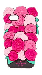 Kate Spade New York Silicone Roses Iphone 7 Case Pink Multi