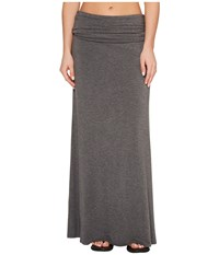 Kavu Sanjula Skirt Charcoal Gray