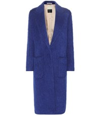 By Malene Birger Nulania Cotton Blend Coat Blue