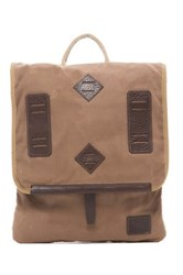 Will Leather Goods Burnt Lake Backpack Brown