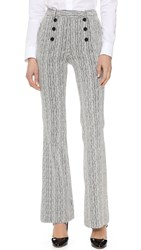 Carven Wide Leg Pants Multi