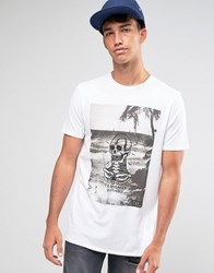 Globe Tropically Disturbed T Shirt White