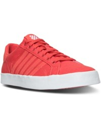 K Swiss Women's Belmont So T Sherbert Casual Sneakers From Finish Line Cayenne White