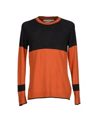 White Mountaineering Sweaters Orange