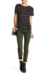Genetic Denim Shya Cropped Skinny Jean Green
