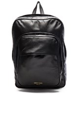 Common Projects Leather Backpack In Black
