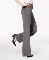 Styleandco. Style And Co. Stretch Wide Leg Pants Heather Gray