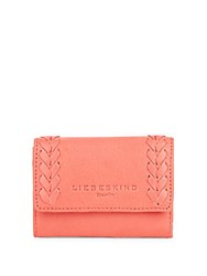 Liebeskind Crisscross Leather Wallet Black