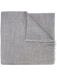 Denis Colomb Classic Scarf Grey