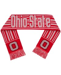 Forever Collectibles Ohio State Buckeyes Glitter Stripe Scarf Red