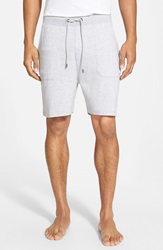 Boss Cotton Lounge Shorts Grey