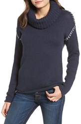 Rip Curl Leah Roll Neck Sweater Navy