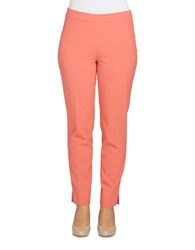 Chaus Courtney Side Zip Pant Coral Voyage