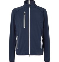 Rlx Ralph Lauren Par Stretch Tech Jersey Golf Jacket Navy