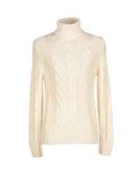 Viadeste Turtlenecks Ivory