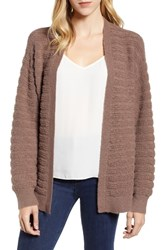 Chelsea 28 Chelsea28 Cozy Stitch Cardigan Brown Taupe