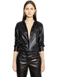 Thierry Mugler Nappa Leather Shirt