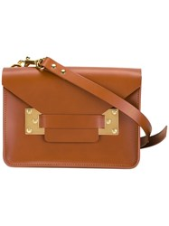 Sophie Hulme 'Milner' Mini Bag Brown