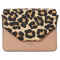 Dune Etwo Clutch Bag Leopard