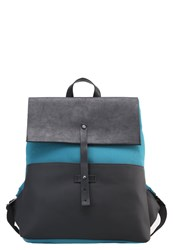 United Colors Of Benetton Rucksack Black Blue Green