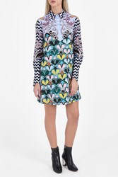 Mary Katrantzou Embroidered Shirt Dress Multi