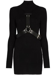 Alyx High Neck Mini Dress Black